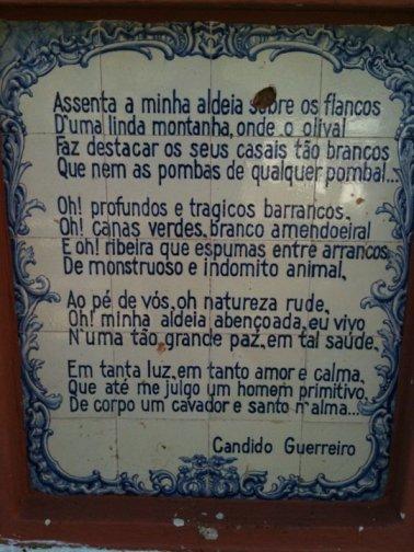 Azulejo style display