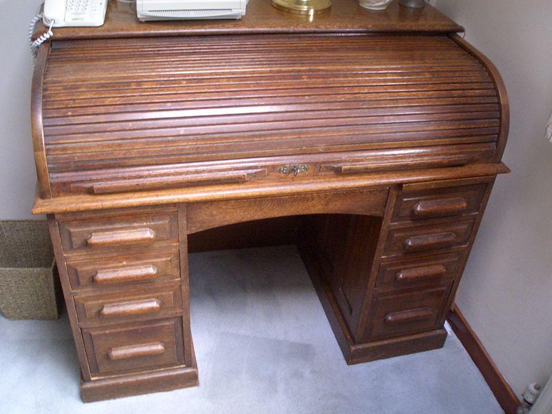 writing desk bureau plans
