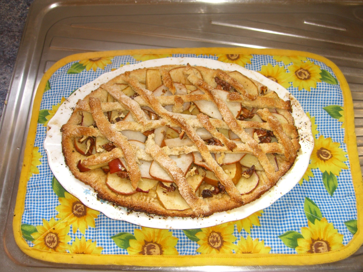 Apple tart, one Sunday afternoon in 2008