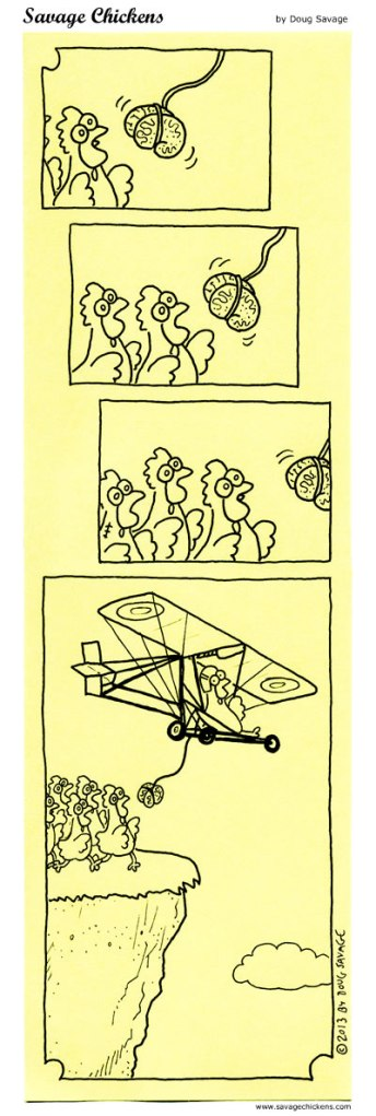 Zombie Solution by Doug Savage of www.savagechickens.com