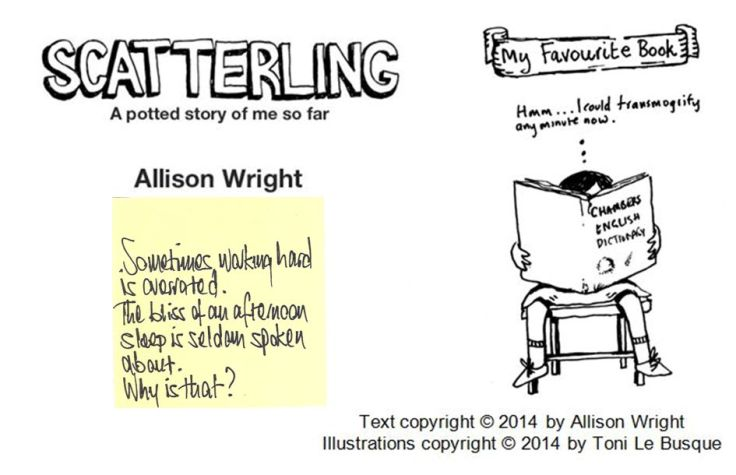 Scatterling daily blurb 8and9and10