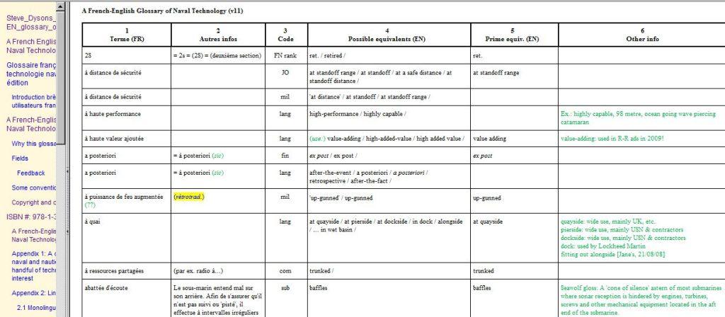 Dyson Excel columns