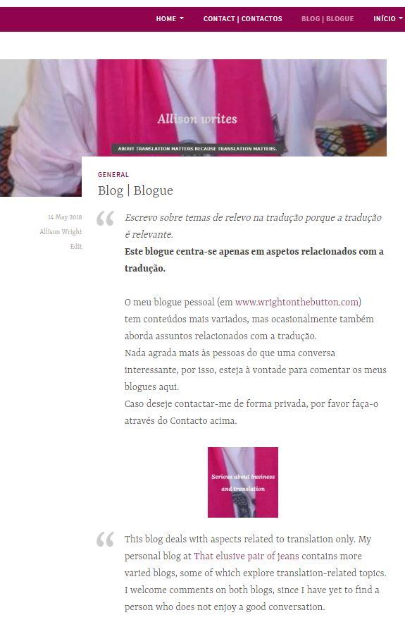 AWT blog