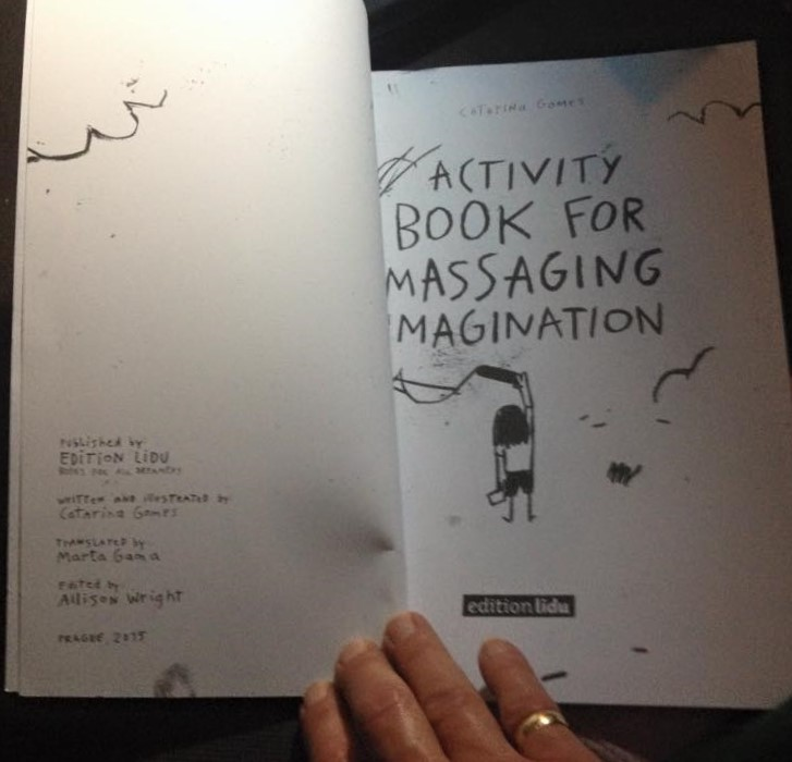 ficha técnica- activity book for massaging the imagination