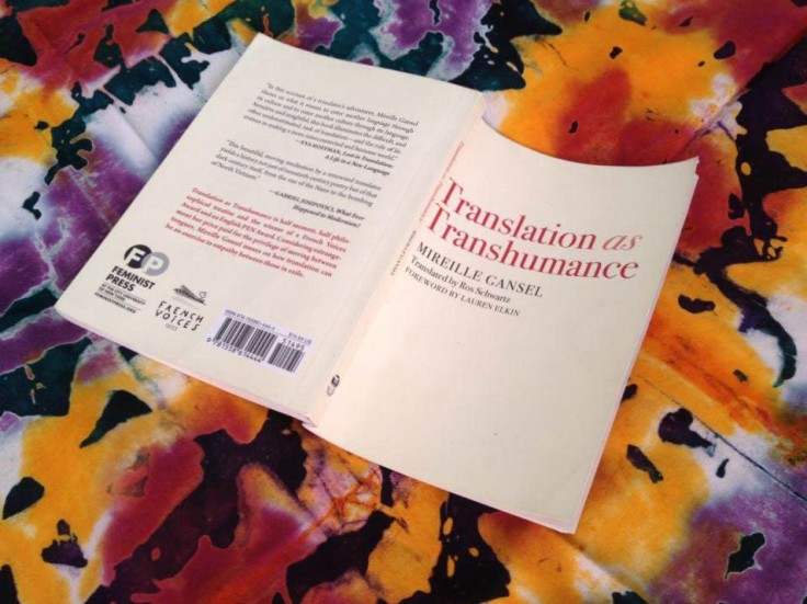 Translation as TRanshumance cover